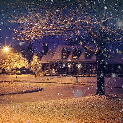 Le travail par temps de neige